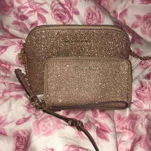 Mk michael kors cindy dome rose gold